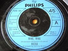 "ROZAA - RING RING  7"" VINYL"
