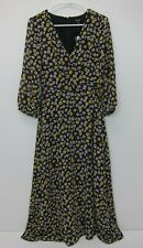 MADEWELL Women's Wrap-Front Maxi Dress Size 00 French Floral  NWT