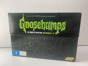 Goosebumps Complete Collection series season 1 2 3 4 dvd New Sealed