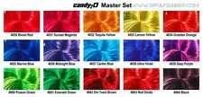 Auto-Air Colors 2oz. Candy2o Complete Master Set custom paints by Createx