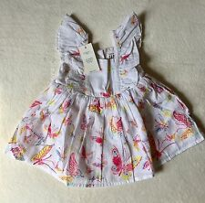 Baby Gap Baby Girl Butterfly Sun Dress 0-3 Months New With Tags