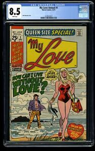 My Love Annual #1 CGC VF+ 8.5 White Pages