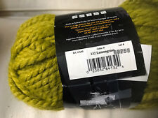 LION BRAND WOOL-EASE THICK & QUICK, Color #132 Lemongrass , 6 Oz Skein