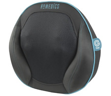 HoMedics Gel Shiatsu Pillow Cushion for Back, Neck, Legs  + Heat + Remote NEW!