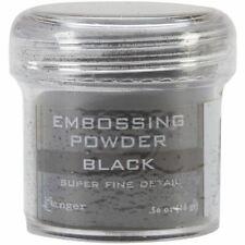 Ranger Embossing Powder Black Super Fine 34ml Jar
