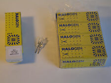 Halogen Lamps 12V 5W, G4 base Box of 40 German Made