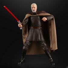 "Star Wars black series Count Dooku action figure 6"" #107 CASE FRESH"