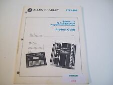 Allen-Bradley 1773-800 Product Guide Plc-4 Microtrol Programmable Manual
