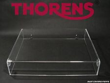 Dust Cover for Thorens TD-166,146,160,318,145,320 stofkap,acrylhaube,couvercle