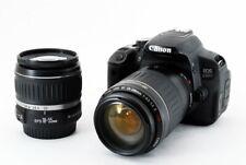 Canon EOS Rebel T4i / eos 650D 18.0MP 18-55/55-200mm [Exc w/8GB SD [147]