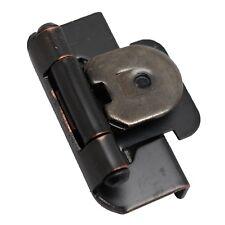"PAIR AMEROCK Oil Rubbed Bronze 1/2"" Double Demountable Steel Hinge CMR8704ORB"