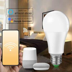 E27 B22 Wifi Smart LED Bulb 15W Intellegent Warn Lighting Dimmable LED Lamp