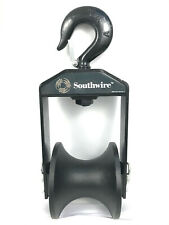 """Southwire SHS6-4 Steel 4000lb Capacity 6"""" Hook Sheave 1"""" Opening"""