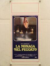 LA MONACA DEL PECCATO erotico regia Dario Donati locandina orig. 1986