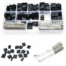 620pc Set Male Female Wire Jumper Pin Header Connector Housing Kit w/ Crimp Pins