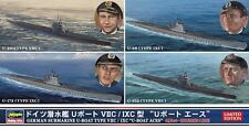 Hasegawa German Submarine U-Boat Aces 1/700 model ship sub kit new 30034 *
