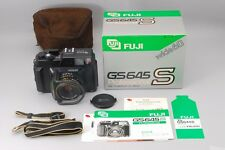 EXC+++++ in BOX Fujifilm Fuji GS645S Fujinon W 60mm F4 Film Camera #498