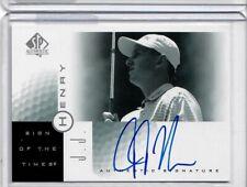 2001 Upper Deck Golf Sign of the Times PGA Autographed Card  JJ Henry