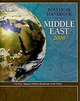 Poltical Handbook of the Middle East 2008 Hardcover CQ Press