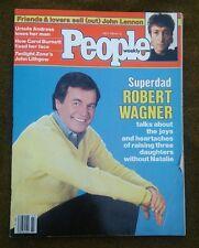 ROBERT WAGNER July 4 1983 PEOPLE Magazine JOHN LENNON