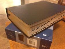 KJV Large Print Life Application Study Bible Indexed $90 Black leather Zondervan