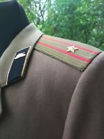 Jacket Officer's Panzer Army Coat Olive Size: L Military USSR