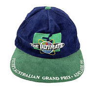 The Ultimate Fosters Australian F1 Grand Prix Adelaide 1991 Vintage Corduroy Cap