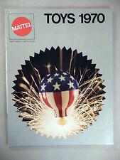 Mattel Toy CATALOG - 1970 ~~ toys