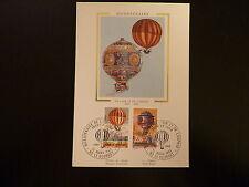 FRANCE PREMIER JOUR FDC YVERT 2261+2262   MONTGOLFIERE   3+2F  LE BOURGET   1983