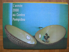 PROGRAMME DU CENTRE GEORGES POMPIDOU BEAUBOURG ANNEE 2000 – MUSEE ART MODERNE