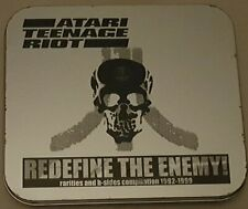 Atari Teenage Riot - Redefine The Enemy - UK CD in a tin + booklet