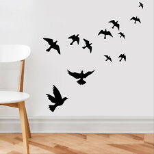 DIY Flying Birds Art Wall Stickers Vinyl Removable Decals Mural Home Decor Chic