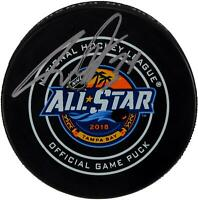 Auston Matthews Maple Leafs Signed 2018 NHL All-Star Game Puck - Fanatics