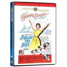 FOLLOW THE BOYS. Connie Francis musical (1963). Region free. New DVD.
