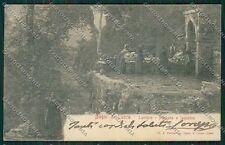 Lucca Bagni di Lucchio cartolina QQ2585