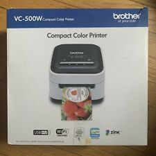 Brother VC-500W Compact Wireless Photo Printer