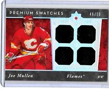 JOE MULLEN  2006-07 ULTIMATE PREMIUM SWATCHES QUAD GAME USED JERSEYS#/50