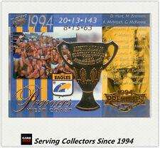 PC3- 2003 AFL XL Ultra West Coast 1994 AFL Premiership Commemorative Card