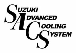 Sticker SACS SuzukiI GSX-R GSXR 1100 750 Bandit Inazuma - 10,5cm x 7cm