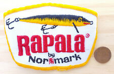 Vtg Rapala by Normark Patch-White-Fishing-Lures Hook Trebel Hook Lake River Rod.