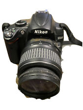 Used Nikon D5000 12.3 MP DX Digital SLR Camera with 18-55mm f/3.5-5.6G VR Lens