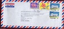 Elizabeth II (1952-Now) Flowers Malaysian Stamps