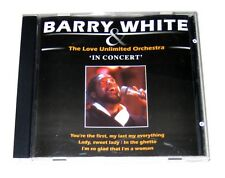 CD: Barry White & The Love Unlimited Orchestra - In Concert (2001, Luca) First