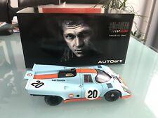 AUTOART - PORSCHE - 917 Steve McQueen Gulf Porsche