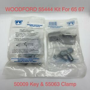 WOODFORD 55444 Faucet Hydrant Kit 65 / 67 With 50009 Tee Key & 55063 Clamp Assy