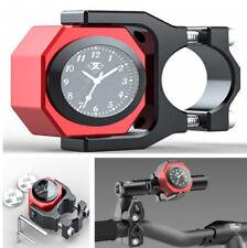 1PCS Waterproof Alloy Motorcycle Digital Clock Watch on Motorbike Time Display