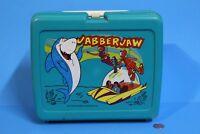 "THERMOS BRAND 1977  ""JABBERJAW""  LUNCHBOX -VERY RARE BOX HANNA BARBARA SHARK"
