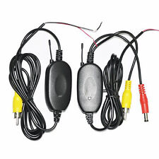 US 2.4G Wireless Video Transmitter & Receiver for Car Rear View Camera Monitor
