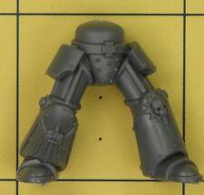 Warhammer 40K Space Marines Dark Angels Aile De Mort commandement Terminator Jambes (D)