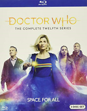 New listing Doctor Who: The Complete Twelfth Series [Blu-ray]